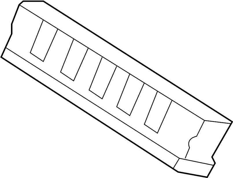 Infiniti Qx56 Harness Door   Left  Front   Body  Room  Engine