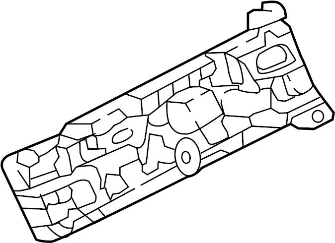 Infiniti Jx35 Bracket Engine Harness  Room  Control  Main