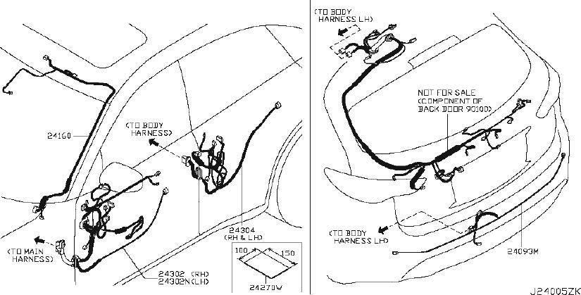 Infiniti Fx35 Junction Block Bracket  Harness  Engine